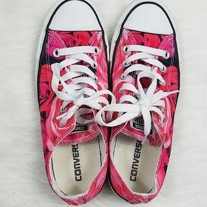 d2b4e8a8130 Converse Shoes - Converse Rose Pattern size 7